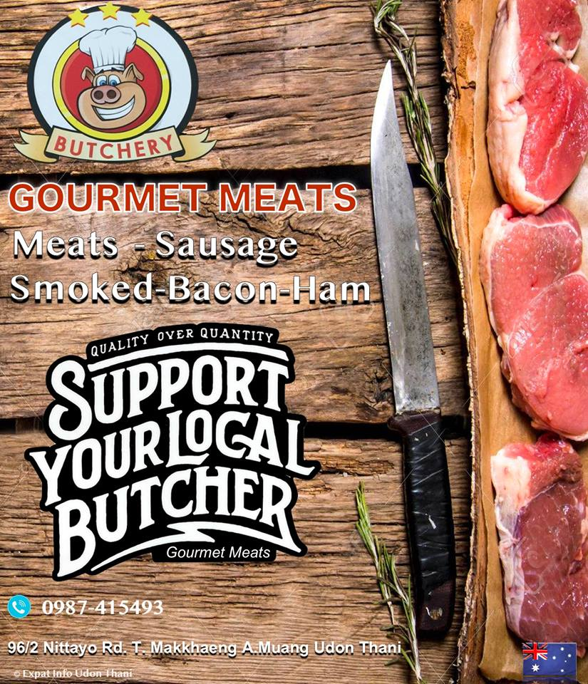 GOURMET MEATS FACEBOOK PROMO FLYER