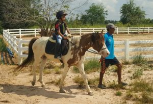pony trekking for kids udon thani