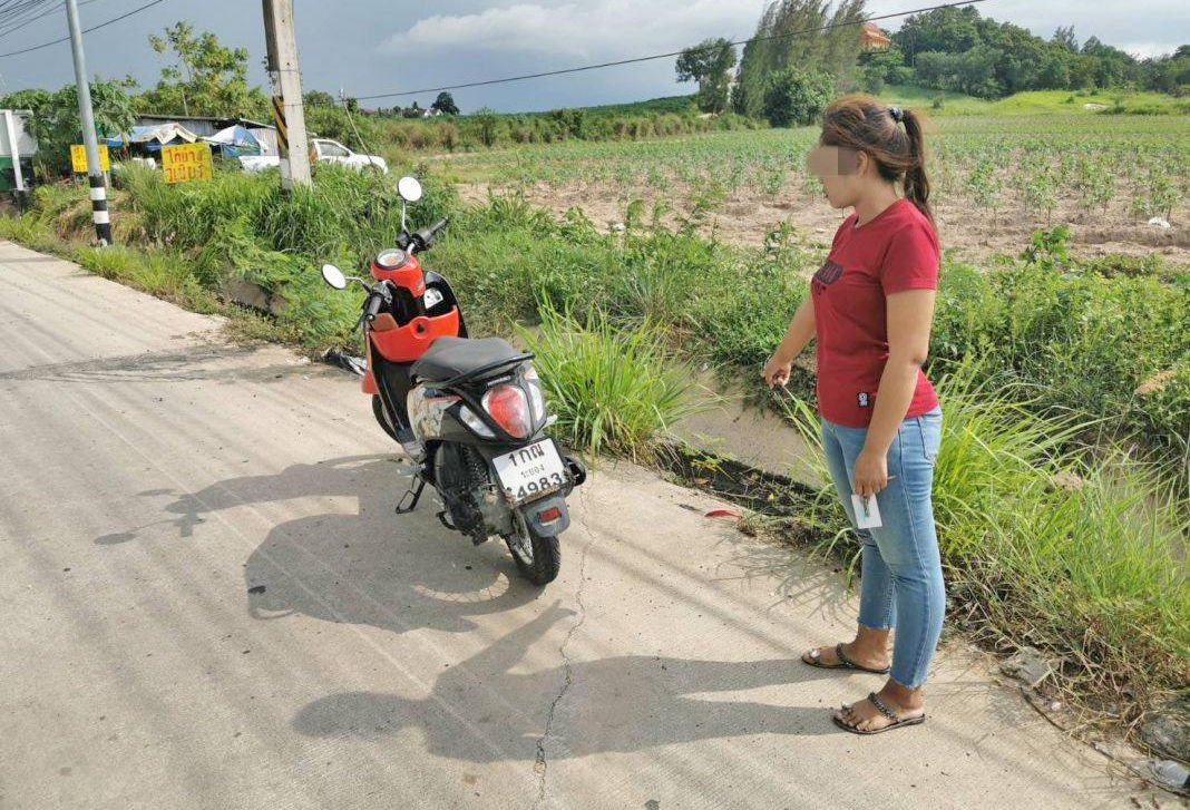 Woman arrested in Chon Buri for false police report